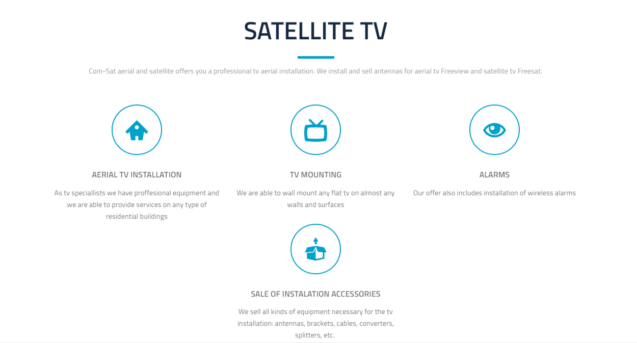 com-sat satellite tv